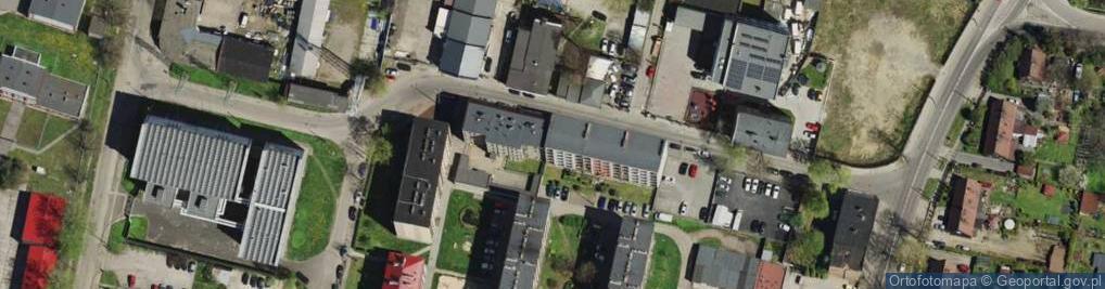 Zdjęcie satelitarne Kruszcowa ul.