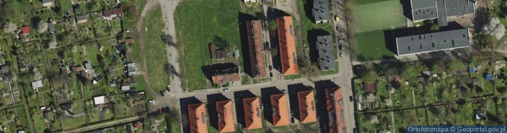 Zdjęcie satelitarne Krańcowa ul.