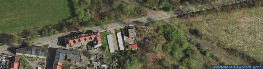 Zdjęcie satelitarne Krzyżowa ul.