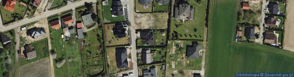 Zdjęcie satelitarne Krzemienia ul.