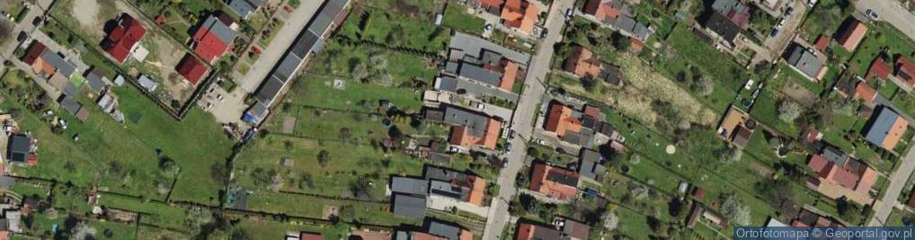 Zdjęcie satelitarne Krzyżowa Góra ul.