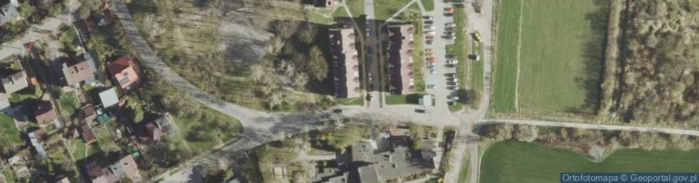 Zdjęcie satelitarne Kredowa ul.