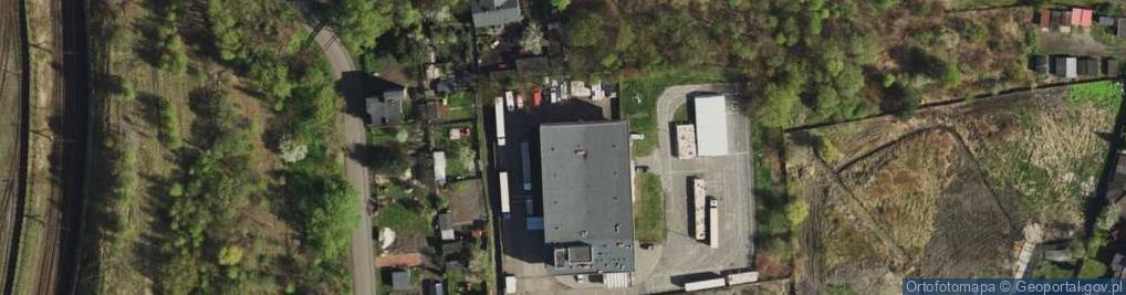 Zdjęcie satelitarne Krakowska ul.