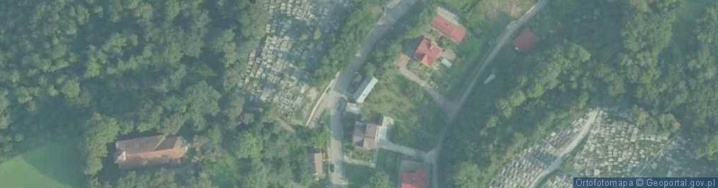 Zdjęcie satelitarne Króla Kazimierza Wielkiego ul.