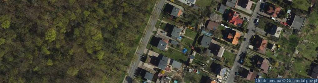 Zdjęcie satelitarne Króla Władysława Jagiełły ul.