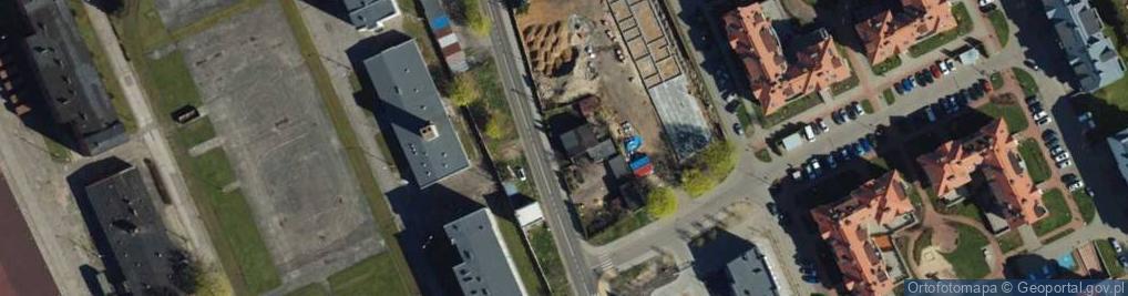 Zdjęcie satelitarne Kruszelnickiego Zbigniewa ul.