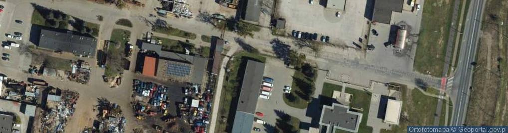 Zdjęcie satelitarne Krzycha, por. ul.