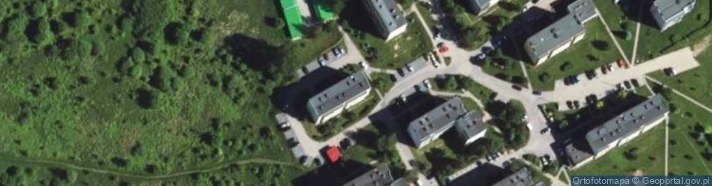 Zdjęcie satelitarne Królowej Bony ul.