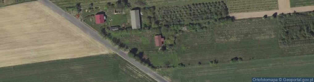 Zdjęcie satelitarne Kraczewice Prywatne ul.