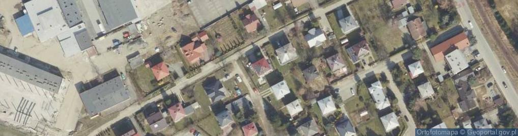 Zdjęcie satelitarne Krukierka Jędrzeja ul.
