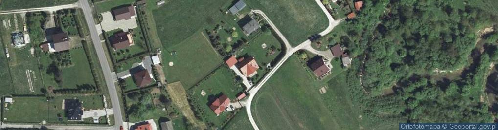 Zdjęcie satelitarne Krzywaczka ul.