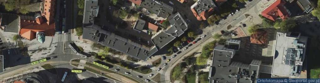 Zdjęcie satelitarne Kruka Erwina ul.