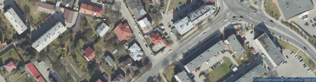 Zdjęcie satelitarne Krasińskiego Zygmunta ul.
