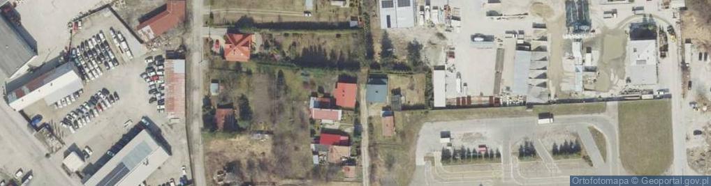 Zdjęcie satelitarne Krównicka ul.