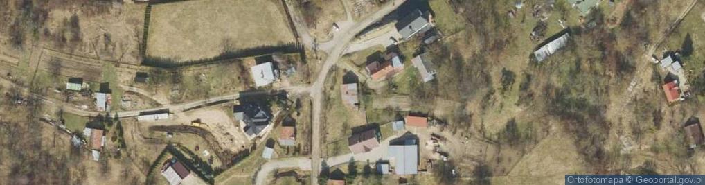 Zdjęcie satelitarne Kruhel Wielki ul.