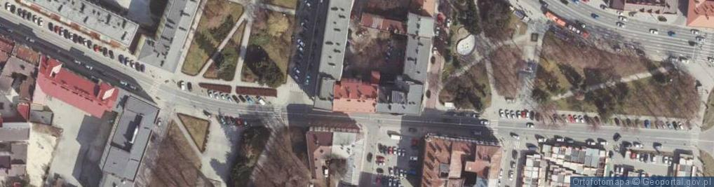 Zdjęcie satelitarne Króla Jana III Sobieskiego ul.