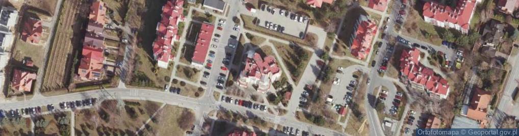 Zdjęcie satelitarne Krośnieńska ul.
