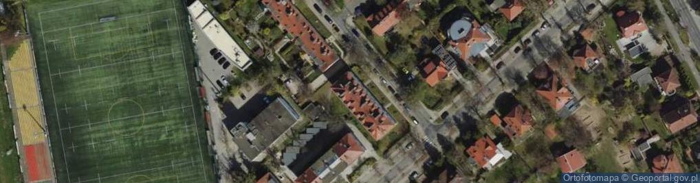 Zdjęcie satelitarne Króla Jana Kazimierza ul.