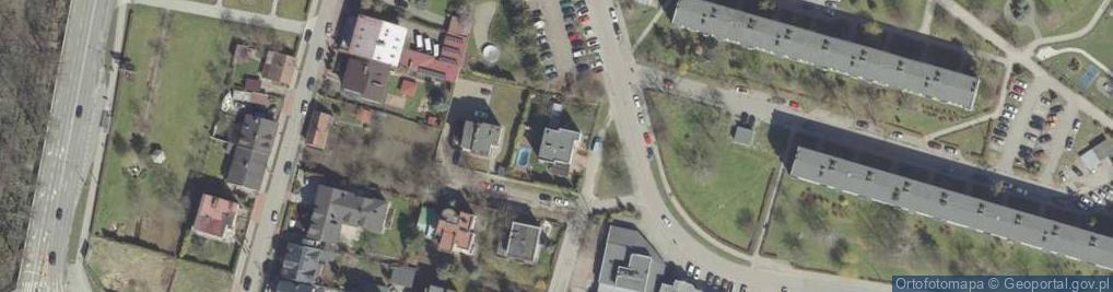 Zdjęcie satelitarne Krupnicza ul.