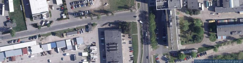 Zdjęcie satelitarne Króla Bolesława Chrobrego ul.