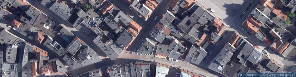Zdjęcie satelitarne Królowej Jadwigi ul.