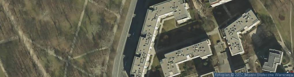 Zdjęcie satelitarne Kruczkowskiego Leona ul.