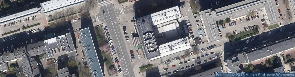 Zdjęcie satelitarne Krucza ul.