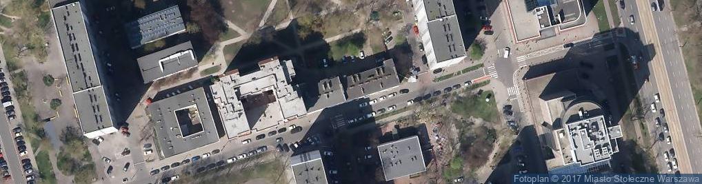Zdjęcie satelitarne Krochmalna ul.