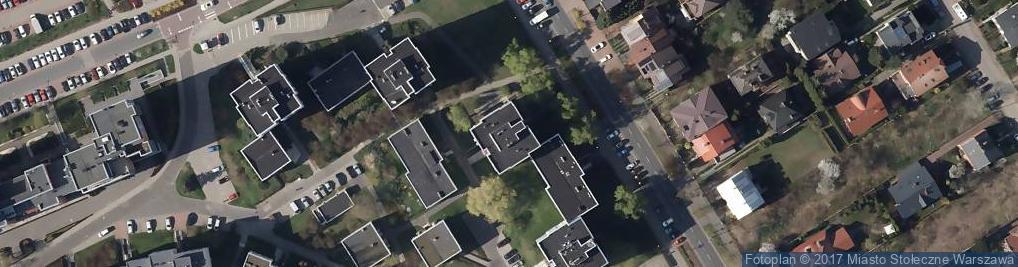 Zdjęcie satelitarne Królowej Marysieńki ul.