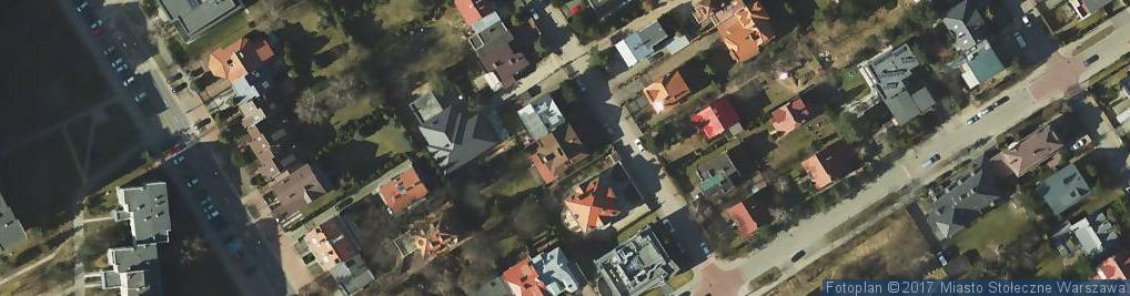 Zdjęcie satelitarne Królewicza Jakuba ul.