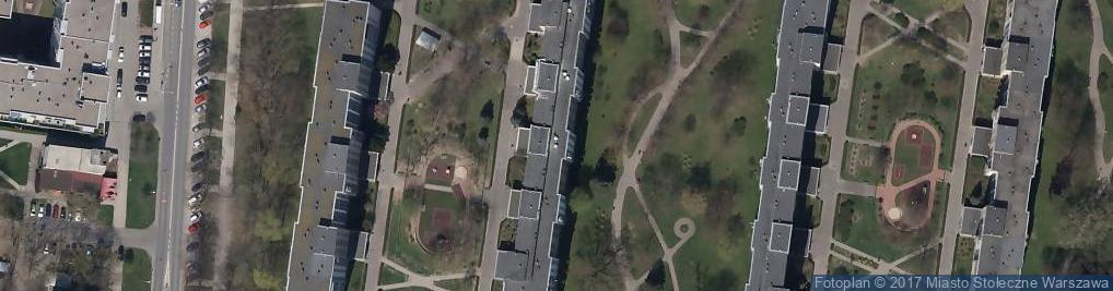 Zdjęcie satelitarne Krasnobrodzka ul.