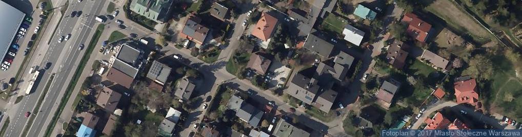Zdjęcie satelitarne Krynoliny ul.