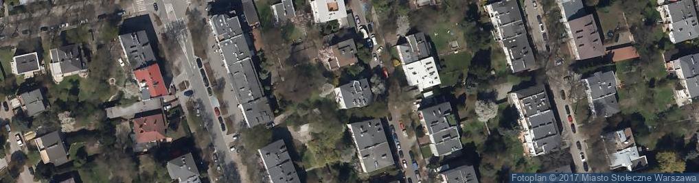 Zdjęcie satelitarne Królowej Aldony ul.