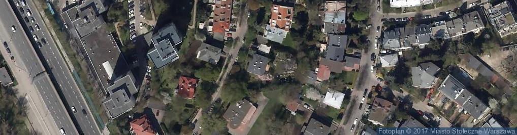 Zdjęcie satelitarne Kryniczna ul.