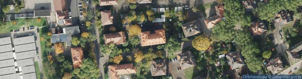 Zdjęcie satelitarne Krakusa ul.
