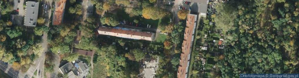 Zdjęcie satelitarne Krawczyka Klemensa ul.