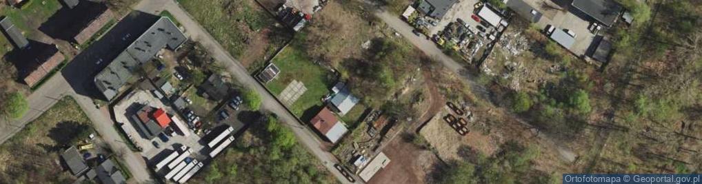 Zdjęcie satelitarne Królowej Kingi ul.