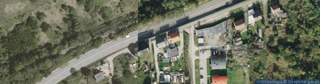 Zdjęcie satelitarne Kruczka Marcelego ul.