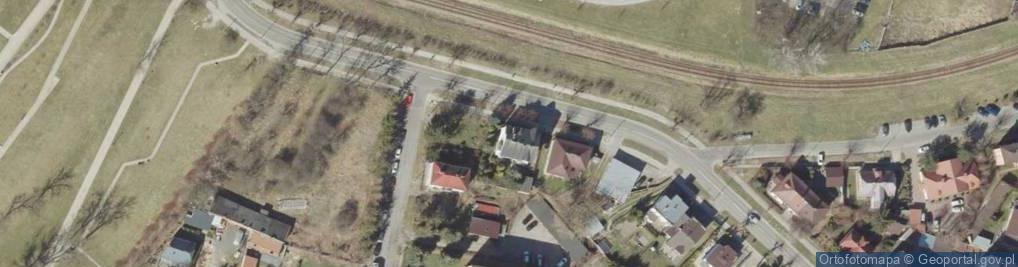 Zdjęcie satelitarne Krysińskiego Jana, płk. ul.