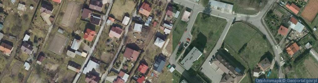 Zdjęcie satelitarne Króla Marcina ul.