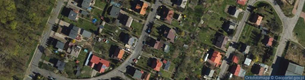 Zdjęcie satelitarne Księcia Witolda ul.