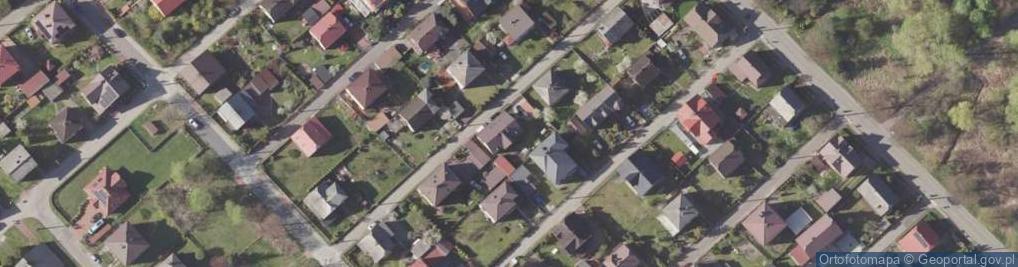 Zdjęcie satelitarne Księcia Józefa ul.