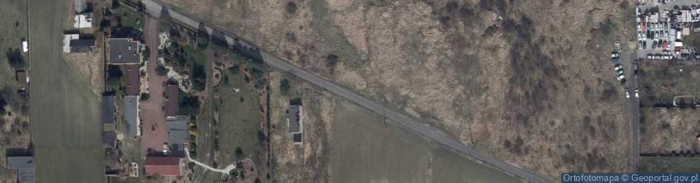Zdjęcie satelitarne Księżnej Jolanty ul.