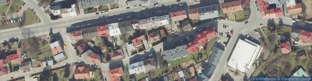 Zdjęcie satelitarne Księcia Józefa Poniatowskiego ul.