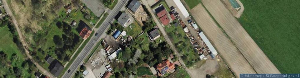 Zdjęcie satelitarne Ku Duklom ul.