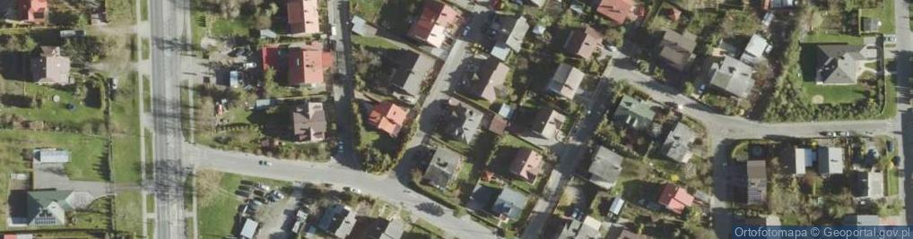 Zdjęcie satelitarne Kunickiego Leona ul.