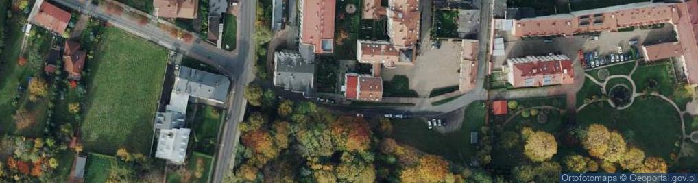 Zdjęcie satelitarne Kubiny Teodora, ks. bp. ul.