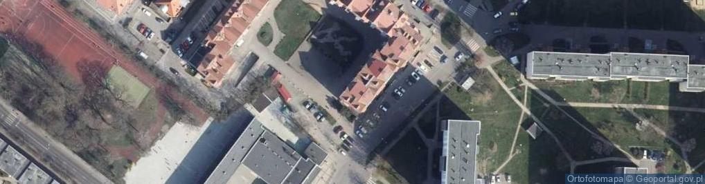 Zdjęcie satelitarne Kupiecka ul.