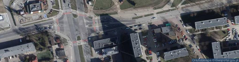 Zdjęcie satelitarne Kurczaki ul.