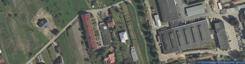 Zdjęcie satelitarne Kurierów Armii Krajowej ul.